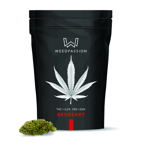 Weedpassion Redberry 26% cbd