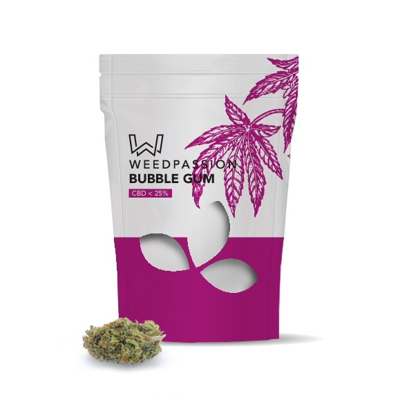 Weedpassion Bubblegum 26% cbd 1gr.