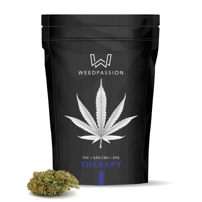 Weedpassion Therapy 25% cbd 1gr.
