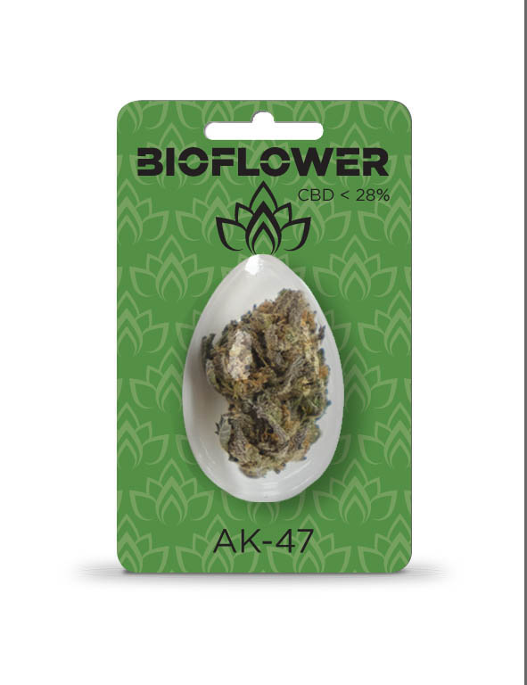 Bioflower AK-47 28% cbd ovetto