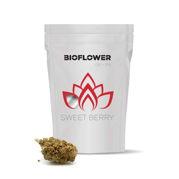 Bioflower Sweet Berry 26% cbd