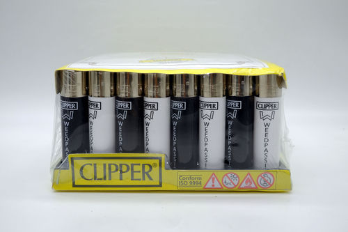 Accendino Clipper Weedpassion conf. 48 pz