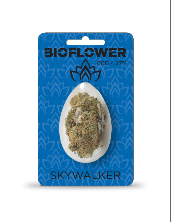 Bioflower Skywalker 27% cbd ovetto